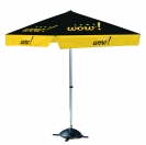"78"" 4 Sided Umbrella - Dye Sublimated"